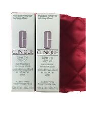 Clinique Take The Day Off Eye Makeup Remover Stick Full-Size (Lot of 2)
