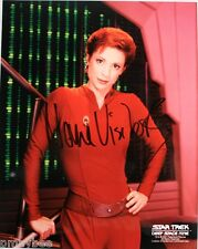 Nana Visitor as Kira Nerys Autographed 8x10 Photo - Star Trek - Deep Space Nine