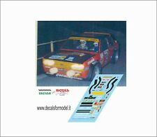 DECALS FIAT 131 ABARTH PASETTI RALLY LANA 1979