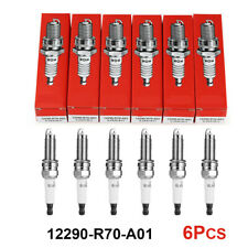 6pc  New Genuine OEM NGK Honda Iridium Spark Plugs 12290-R70-A01  ILZKR7B11