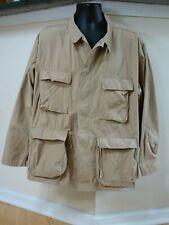 USGI Desert Combat Uniform Hot Weather Jacket Coat Size XL Reg Khaki Rare