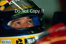 Ayrton Senna McLaren F1 Portrait 1993 Photograph 2