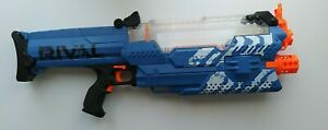 Nerf Rival MXVII-10K Motorized Blaster Plus 100 Ammo Balls #Blue Team #RARE No2