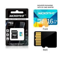 16GB Micro SD SDHC SDXC Karte CLASS 10 ALTA VELOCIDAD MICROSD Y ADAPTADOR 16 GB