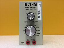 Eaton T-1 0.1 Ohm to 100 Mohms, Performance Test Fixture