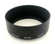 PHOTAX 55mm METAL LENS HOOD THREAD MOUNT