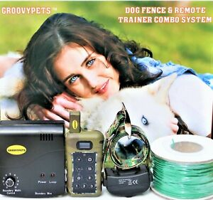 In-ground/underground Containment Fence Remote  Dog Shock Collar Trainer Combo