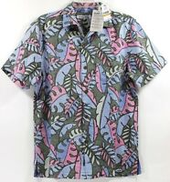 Tommy Bahama Mateo Fronds-Grand Canal Island Zone Silk Blend Camp Shirt $135