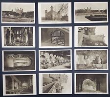 London - Tower of London, Collection of 12 Unused PPC's by HM Office of Works