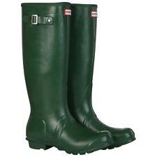 Hunter Green Original Tall Rain Boots, Size Women 5, Men 4,  $148