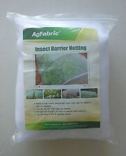 2Pack Agfabric 8'Wx30'L Mosquito Netting Bug Insect barrier Bird Net Barrier