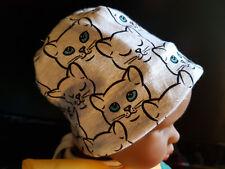 Beanie, Mütze für Babies, Wendemütze,Handmade, 0-2 Monate
