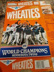 1987 Wheaties Box World Champions Minnesota Twins 18 oz.