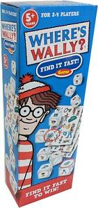 University Games WHERE's WALLY FIND IT FAST GAME Kids Child Toy Puzzle 5 yrs+ BN
