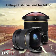 JINTU 8mm f/3.5-F22 Wide HD Fisheye lens for Nikon D7500 D5200 D3000 D5100 D5400