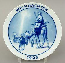 Rosenthal Weihnachtsteller 1925, Der Stern von Betlehem, Entwurf: Otto Tauschek
