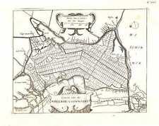 Antique map, Caerte van de Heer-Huygen-Waert