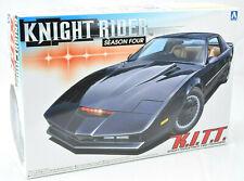 Aoshima Knight Rider Season 4 K.I.T.T. KITT Car 1/24 Plastic Model Car Kit 04130