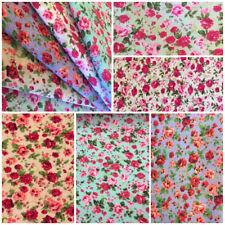 Vestido De Boda Fat Quarters Metro Vintage Tela Floral Rosas Té Banderines De Costura