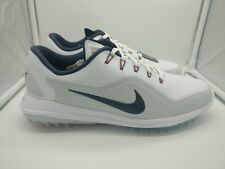 Nike Lunar Control Vapor 2 UK 7 White Thunder Blue 899633-102 Golf Shoe