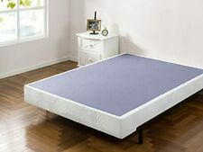 Zinus Walter 7.5 Inch Smart Box Spring Mattress Foundation Built-to-Last Wood
