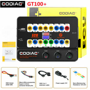 GODIAG GT100+ GT100 Pro OBDII Breakout Box New with Electronic Current Display