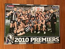 2010 AFL GRAND FINAL COLLINGWOOD GLOSSY PREMIERS poster-HERALD SUN