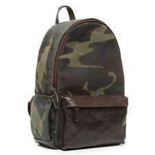 ONA Clifton Canvas Backpack in Camouflage - Timeless Handcrafted Quality ->NEW!