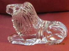 Waterford Crystal Lion Figurine