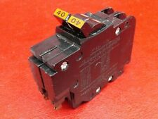 """40A Federal Pacific Stab-Lok 40 Amp 2 Pole Nc 1"""" Breaker - Chipped Plastic $ave"""