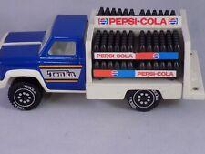 VINTAGE TONKA PEPSI COLA DELIVERY TRUCK 1978 USA WITH 4 BOTTLE RACKS FREE SHIP