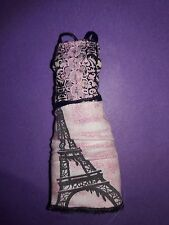 Monster High Rochelle Goyle Scaris Doll Outfit Eiffel Tower Dress