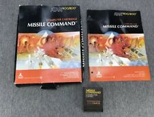 Missile Command | Atari 400/800 Computer Cartridge Game Complete in Box