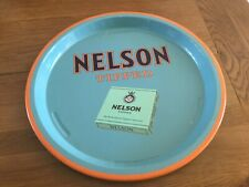 Advertising tin tray - NELSON TIPPED