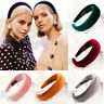 Hot Womens Girl Velvet Headband Multicolor Hairband Hair Band Gifts Padded Decor