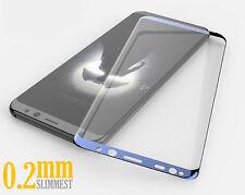 3D 0.2mm 9H Ultra Hart Gehärtetes HD+ Panzerglas für Samsung Galaxy S8 - BLAU ★