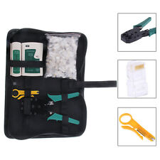 NEW RJ45 Cat5e Ethernet Network Tools Tester Crimper Stripper Cable Teste