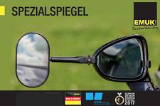 EMUK Wohnwagenspiegel Caravanspiegel BMW X3 X4 X5 X6 F15 G-01 F16 F25 100071 NEU