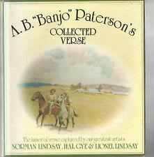 COLLECTED VERSE OF A B PATERSON 1986 Hc Dj NORMAN LINDSAY & HAL GYE ILLUSTRATED