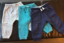 Lot de 3 Bas de Survêtement Jogging Pantalon Garçon 12 mois 1 an