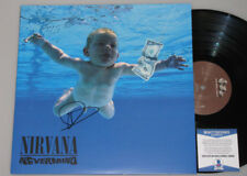 "DAVE GROHL 'NEVERMIND' NIRVANA Hand Signed LP  + PSA BAS COA  ""Buy Authentic"""