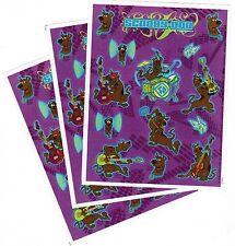 3 Sheets SCOOBY DOO ROCK STAR Scrapbook Stickers! Guitar Drums Rock n Roll