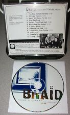 BRAID Frame And Canvas PROMO ONLY CD 1998 Early Emo Classic Alternative