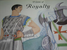 Vtg Sandra Vanderpool A GAME OF ROYALTY/QUEEN/KING  Paper Doll / UNCUT