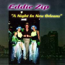 EDDIE ZIP - A Night In New Orleans (CD 2007) Funk Jazz Dr John*Stevie Wonder