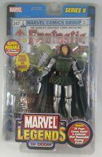 Marvel Legends Dr Doom Action Figure Series II, ToyBiz 2002, With Comic Book