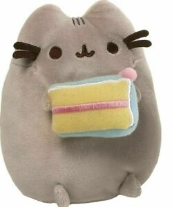 OFFICIAL PUSHEEN x GUND | BIRTHDAY PUSHEEN WITH CAKE PLUSH (FROM COLLECTORS SET)