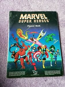 Good (1986, TSR) MARVEL SUPER HEROES Role Playing Game: PLAYERS' BOOK (TP)