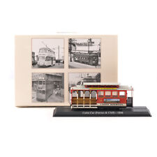 Atlas 1/87 HO Scale Trolley Bus Tram Cable Car Feeries & Cliff 1888 Diecast Toys