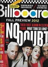Billboard magazine No Doubt Gwen Stefani Fall preview The Darkness Japan Charts